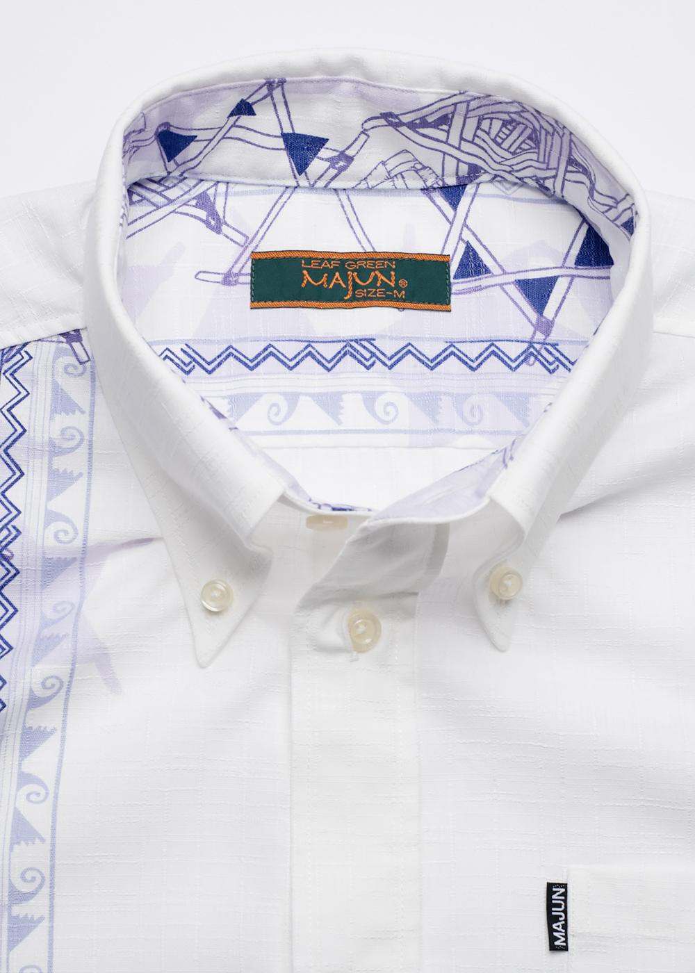 かりゆしウェア(沖縄版アロハシャツ) MAJUN - レトロスピリッツ