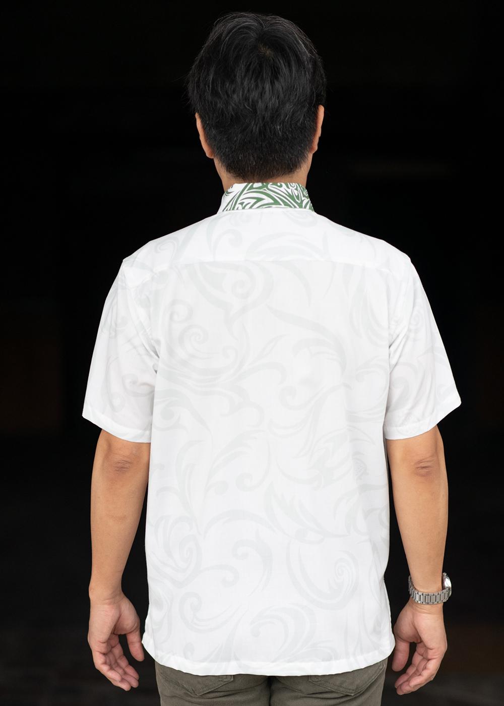かりゆしウェア(沖縄版アロハシャツ) MAJUN - カジキ