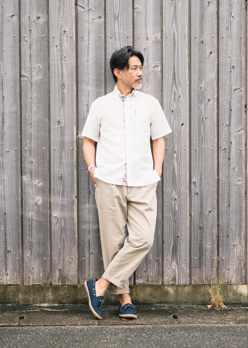 かりゆしウェア(沖縄版アロハシャツ) MAJUN - 琉球松竹梅
