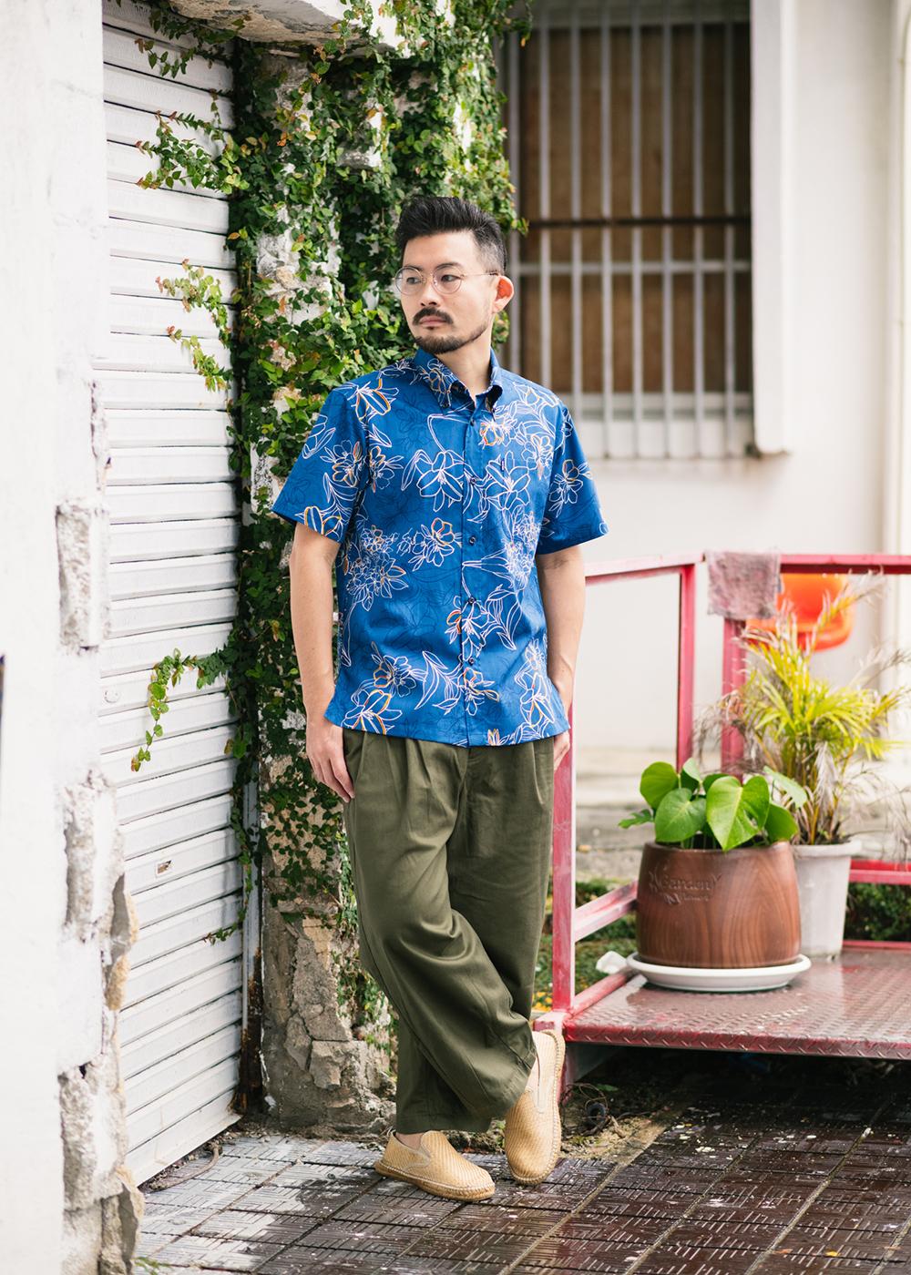 かりゆしウェア(沖縄版アロハシャツ) MAJUN - アザリスガーデン