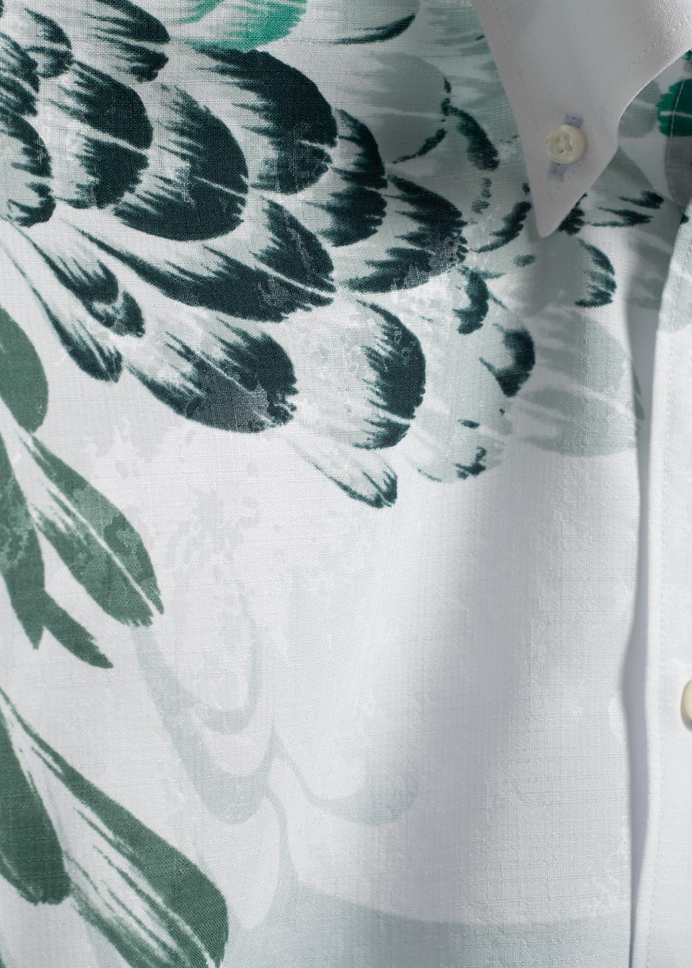 かりゆしウェア(沖縄版アロハシャツ) MAJUN - リバージェダイト