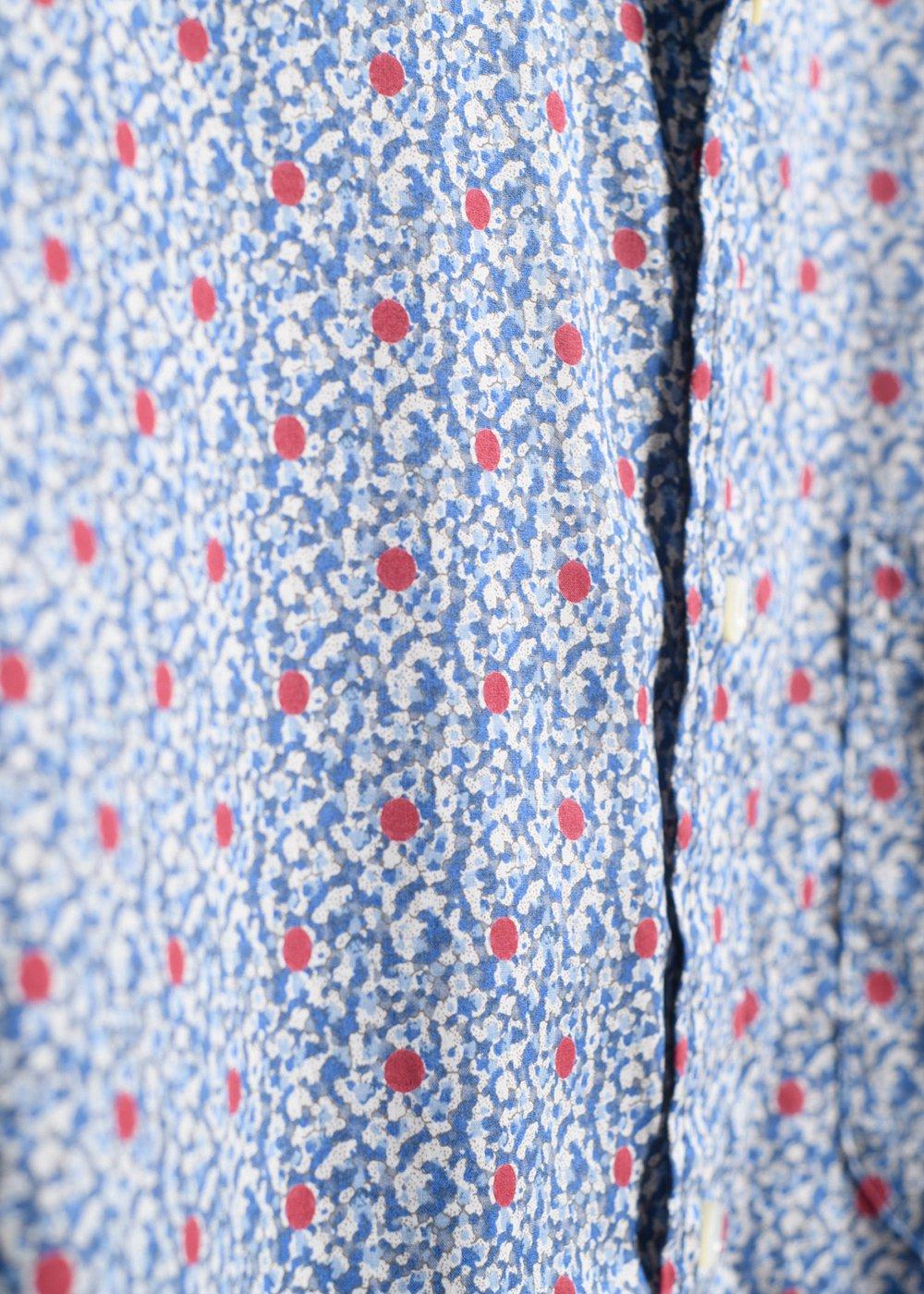 かりゆしウェア(沖縄版アロハシャツ) MAJUN - ナンディナペッパーL/S
