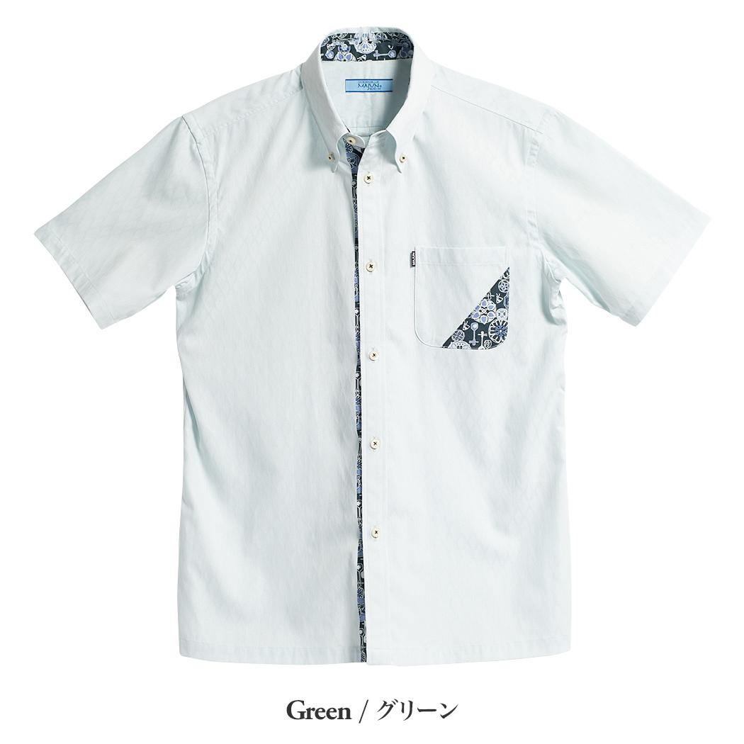 かりゆしウェア(沖縄版アロハシャツ) MAJUN - 三線ハナガサ