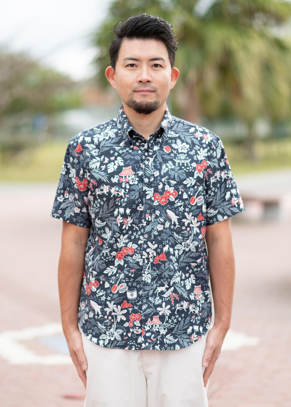 かりゆしウェア(沖縄版アロハシャツ) MAJUN - オキナワンデイドリーム