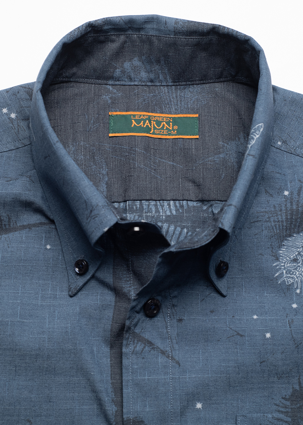 かりゆしウェア(沖縄版アロハシャツ) MAJUN - スターシェル