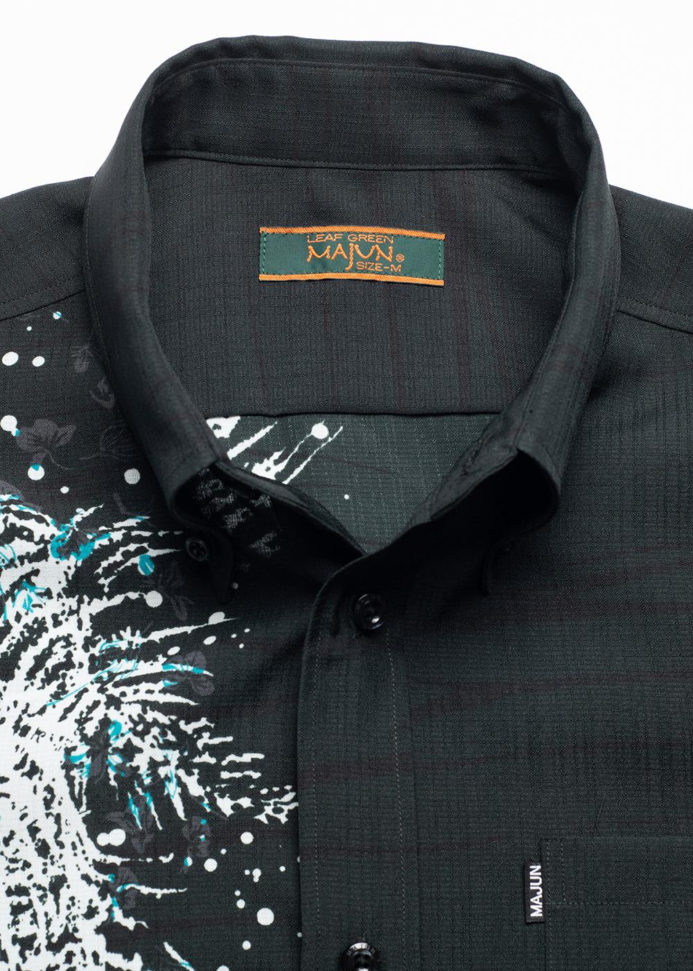かりゆしウェア(沖縄版アロハシャツ) MAJUN - トレックラッシュ