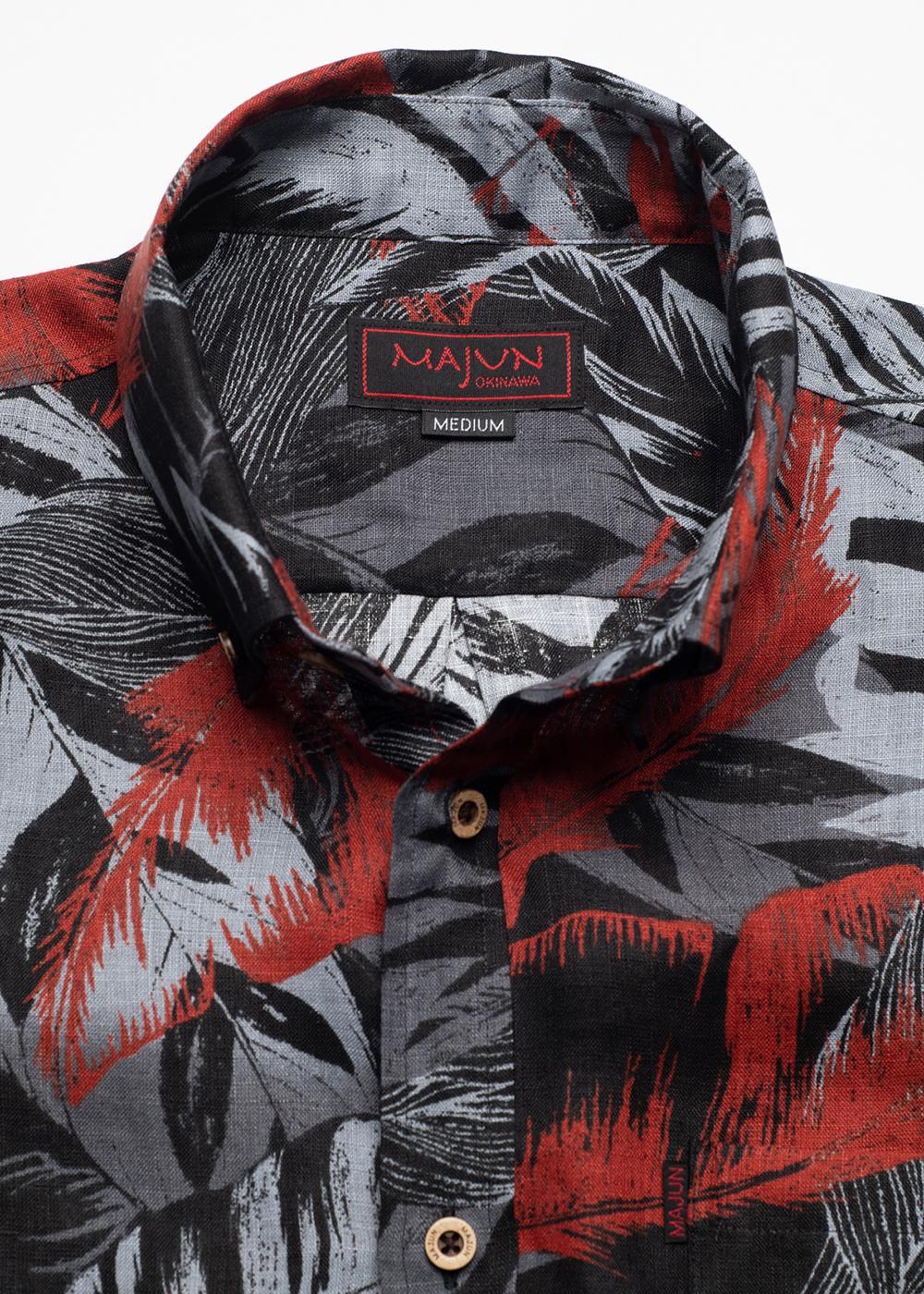 かりゆしウェア(沖縄版アロハシャツ) MAJUN - コレクトリーフ