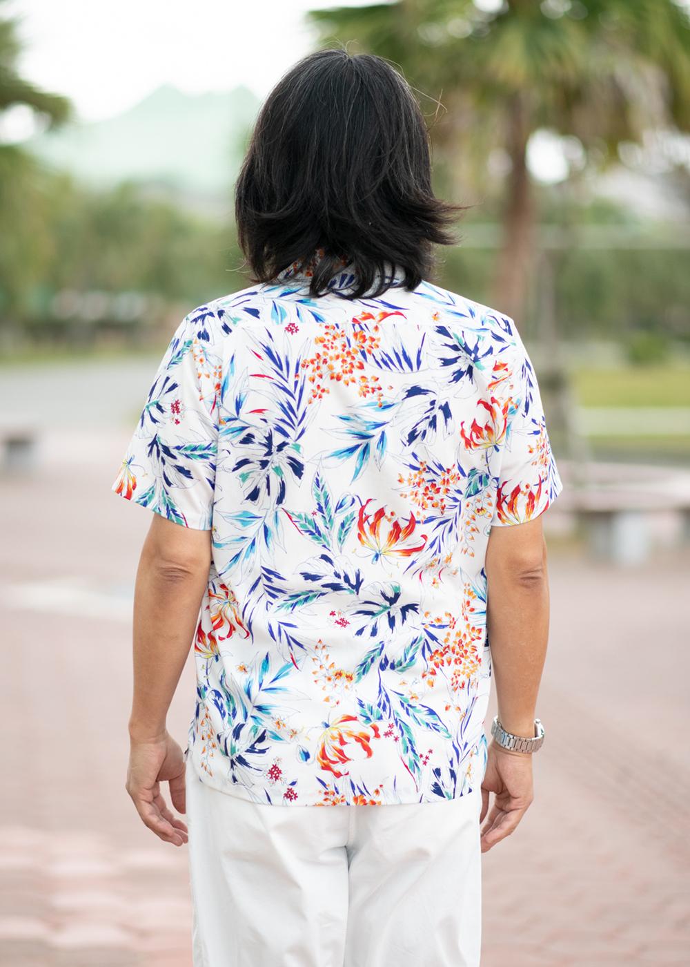 かりゆしウェア(沖縄版アロハシャツ) MAJUN - ブリリアントリゾート