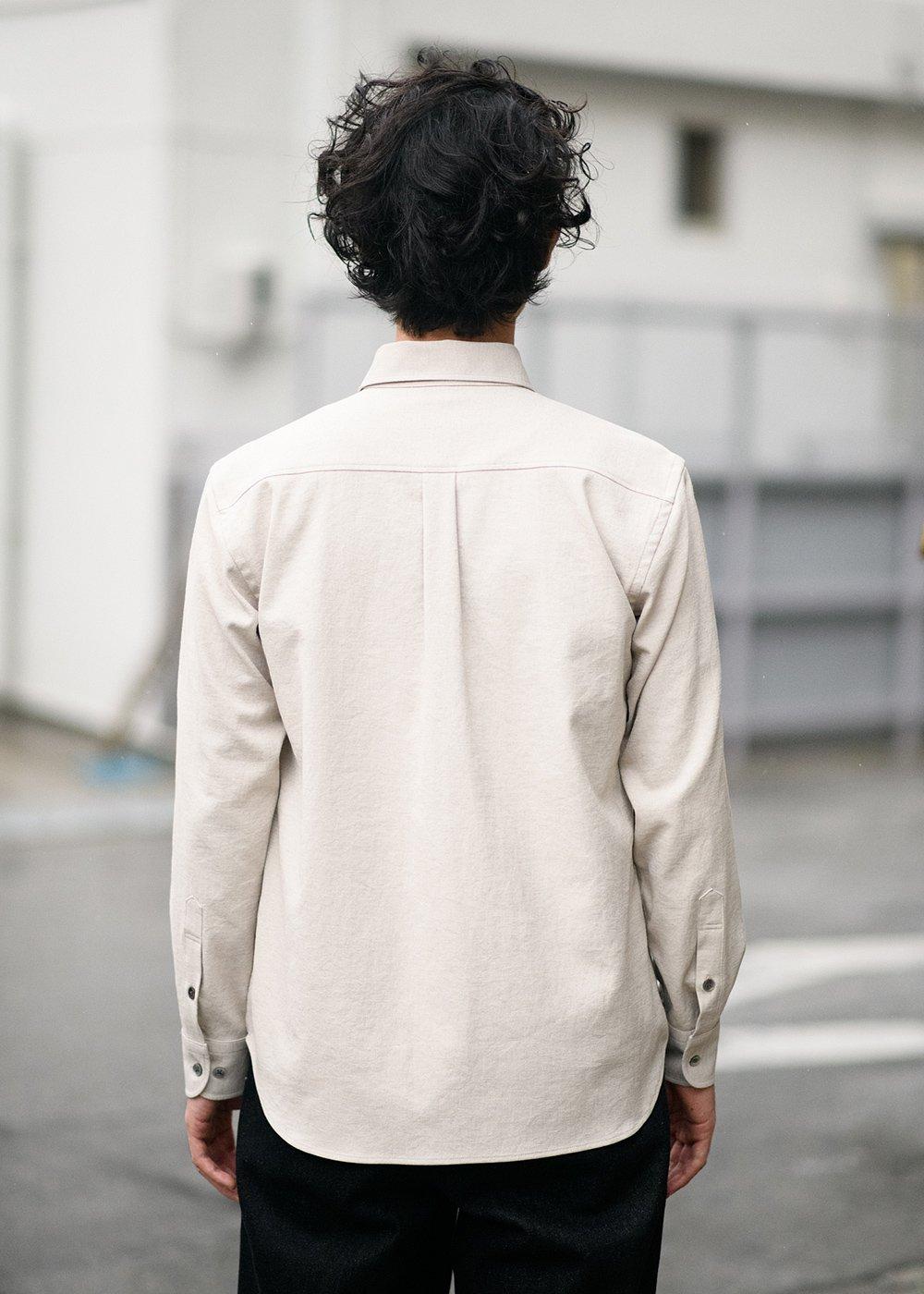 かりゆしウェア(沖縄版アロハシャツ) MAJUN - リゾートリーフL/S