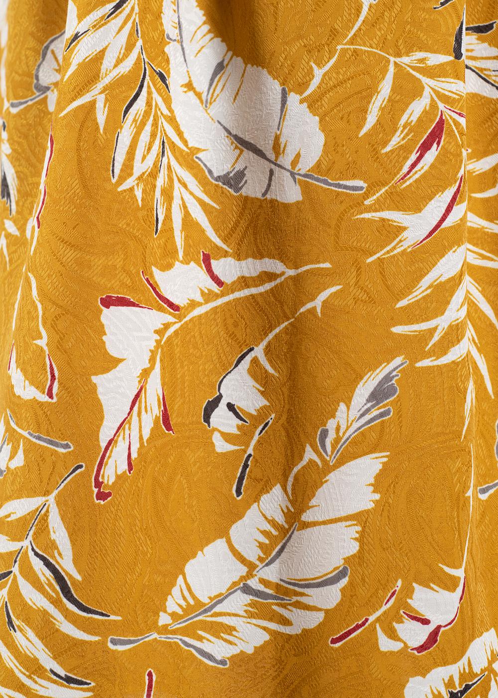 かりゆしウェア(沖縄版アロハシャツ) MAJUN - イータブルプラント(スカート)