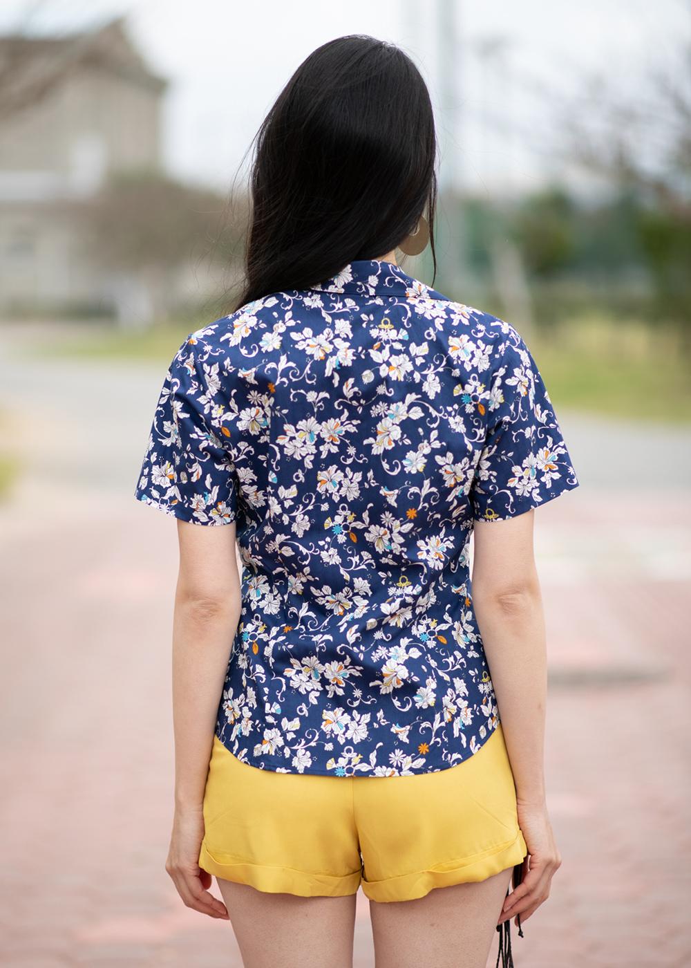 かりゆしウェア(沖縄版アロハシャツ) MAJUN - クラシカルリング