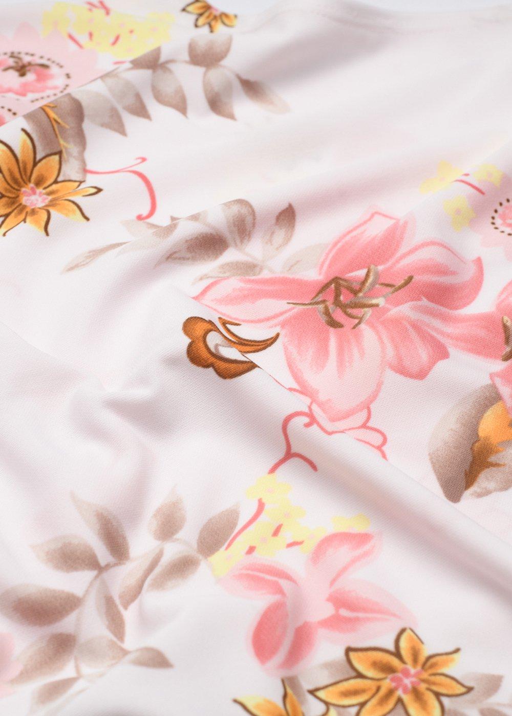 かりゆしウェア(沖縄版アロハシャツ) MAJUN - 香りの花