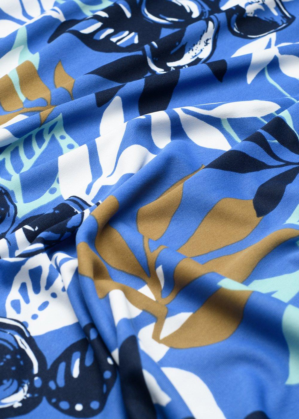 かりゆしウェア(沖縄版アロハシャツ) MAJUN - シルエットリーフ