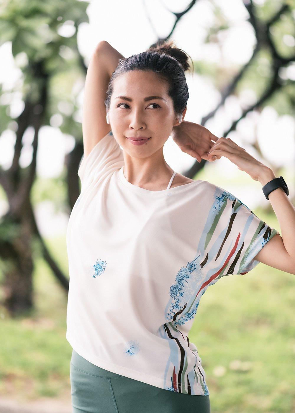 かりゆしウェア(沖縄版アロハシャツ) MAJUN - ハピネスフラワー