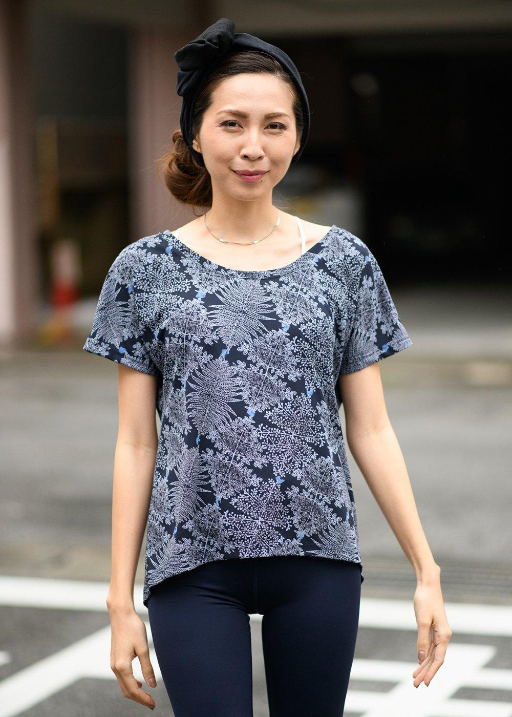 かりゆしウェア(沖縄版アロハシャツ) MAJUN - プラントガーランド