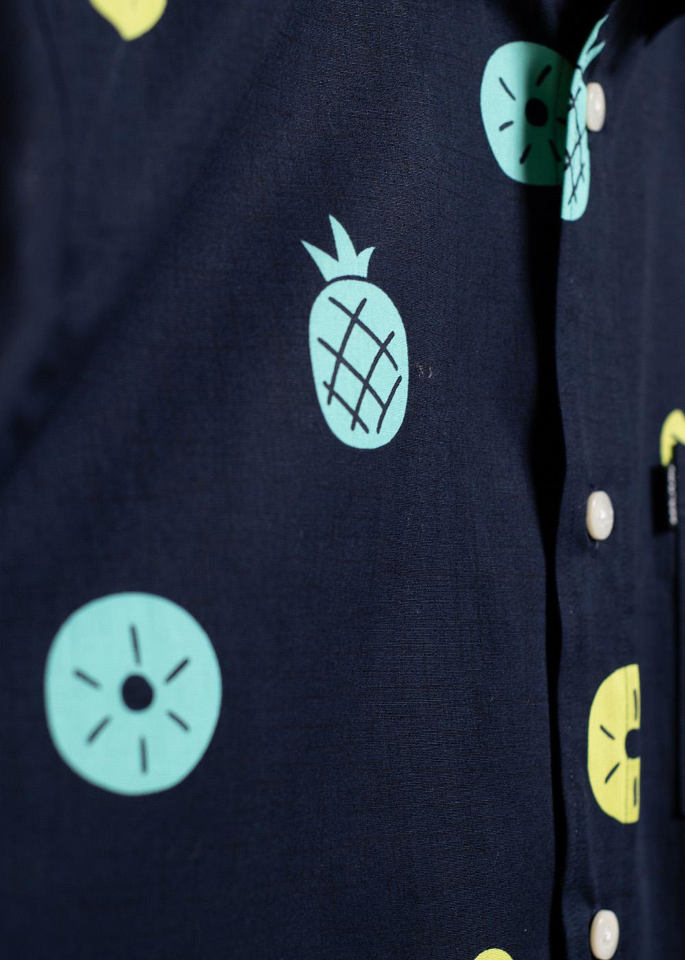 かりゆしウェア(沖縄版アロハシャツ) MAJUN - Pine