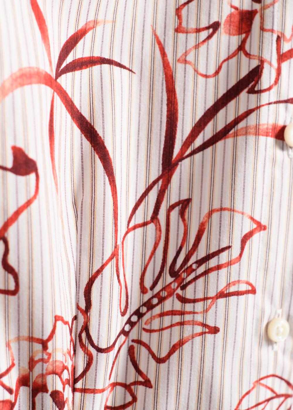 かりゆしウェア(沖縄版アロハシャツ) MAJUN - クリアジンジャー