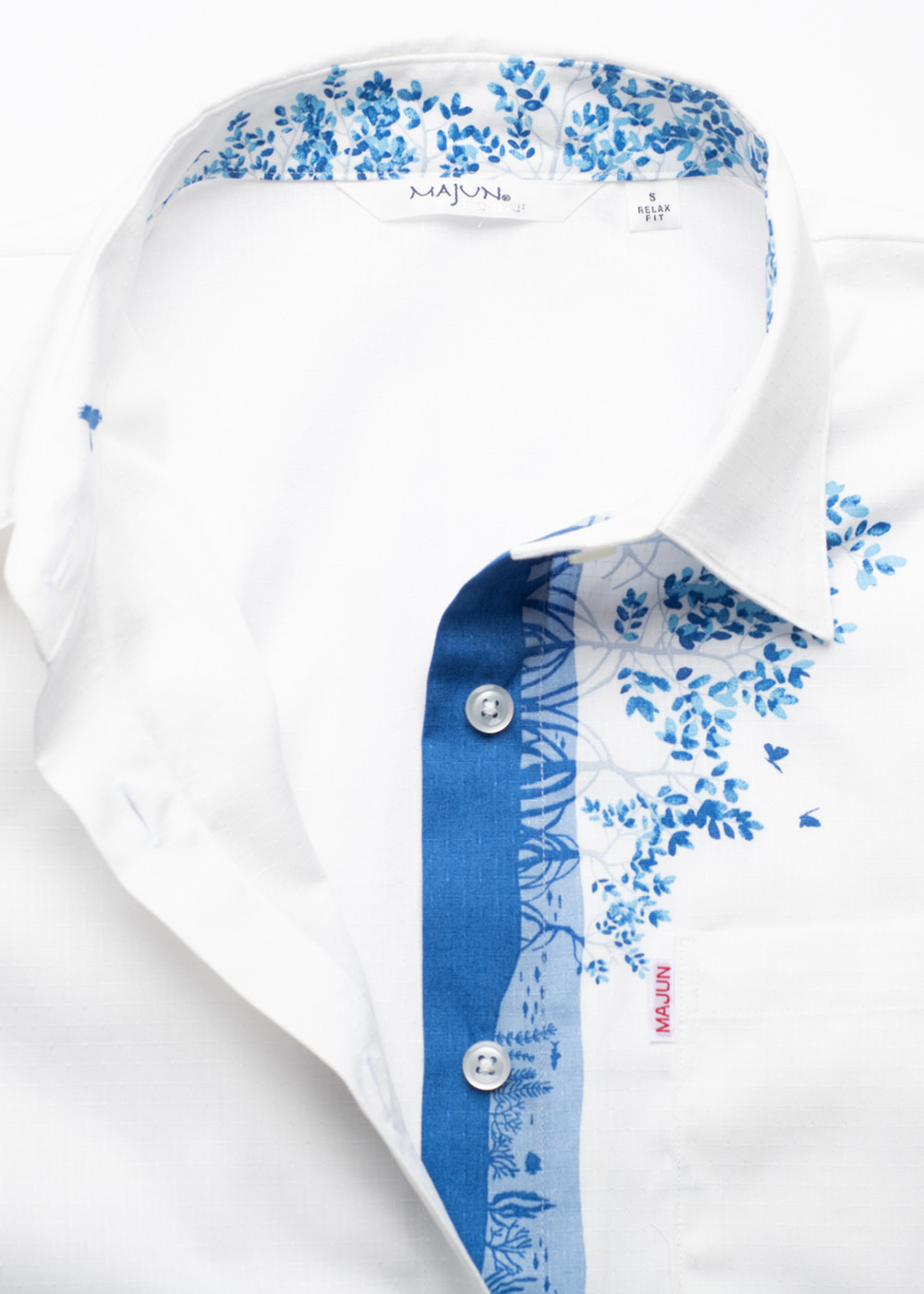 かりゆしウェア(沖縄版アロハシャツ) MAJUN - シーッフォレスト
