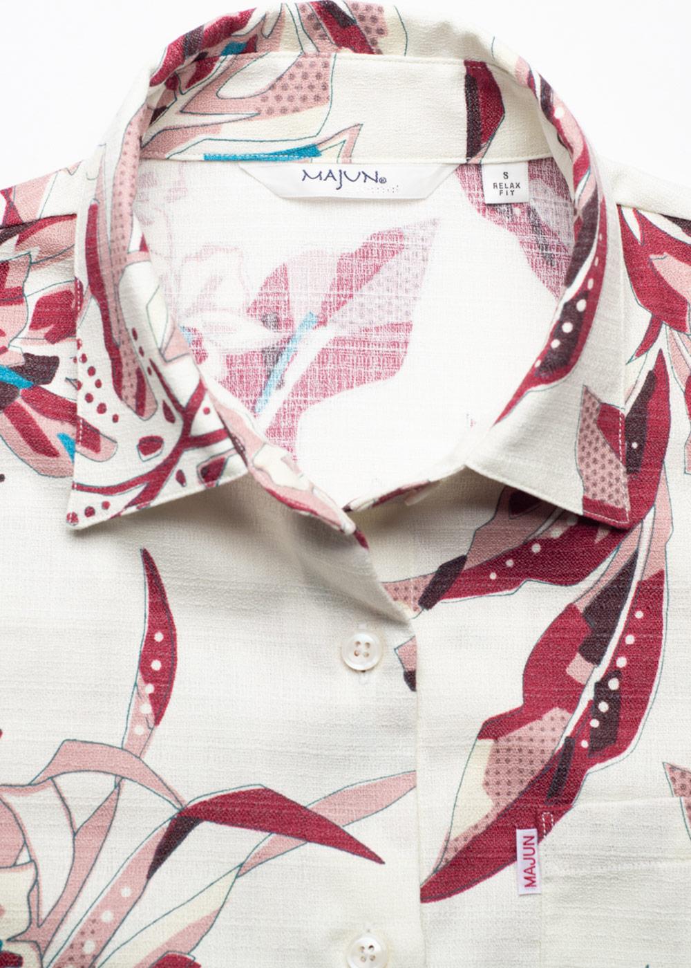 かりゆしウェア(沖縄版アロハシャツ) MAJUN - サウスアイランド