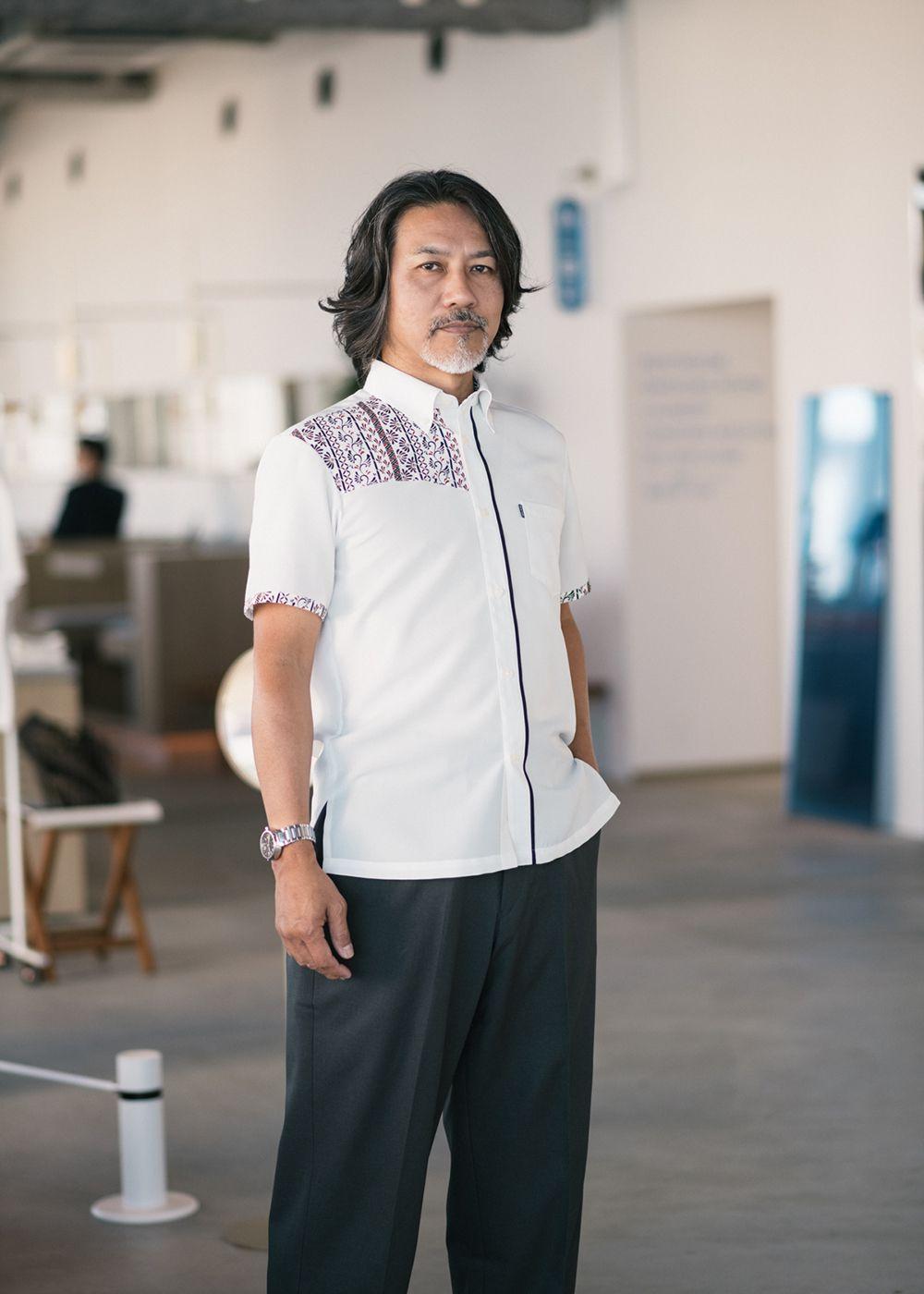 かりゆしウェア(沖縄版アロハシャツ) MAJUN - トラッドリュウキュウ