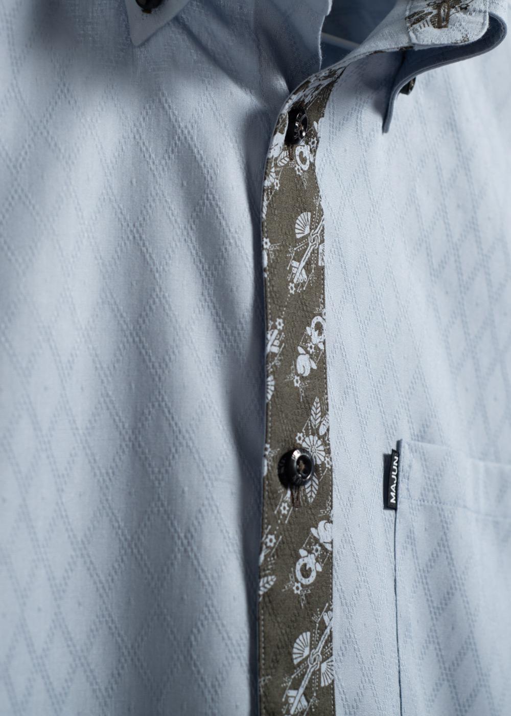 かりゆしウェア(沖縄版アロハシャツ) MAJUN - ミングルカンゼークL/S