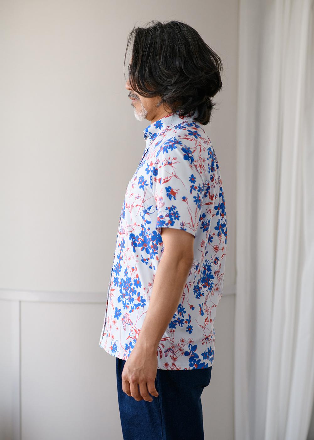 かりゆしウェア(沖縄版アロハシャツ) MAJUN - 百華