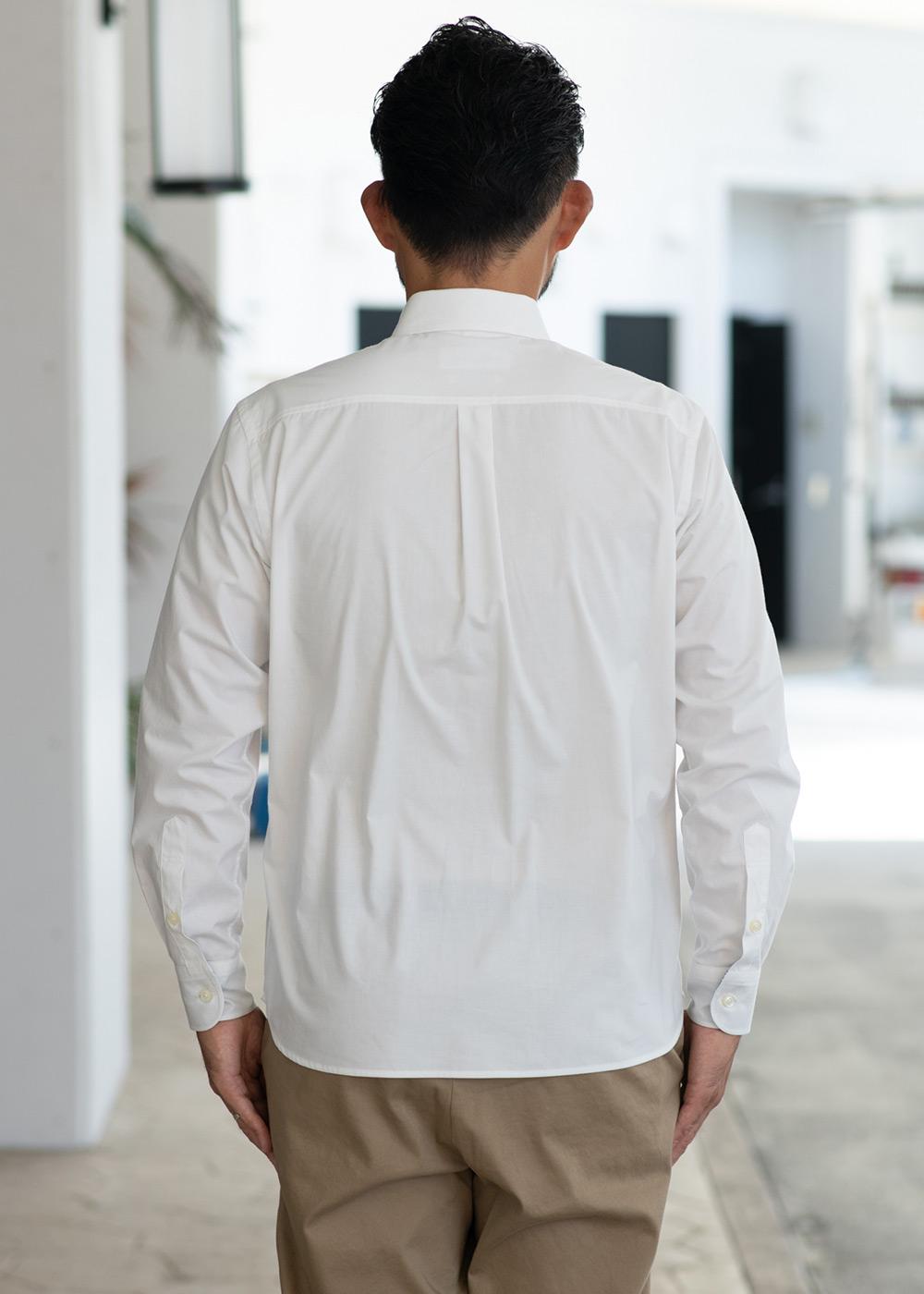 かりゆしウェア(沖縄版アロハシャツ) MAJUN - ナチュラルオーチャードビズL/S
