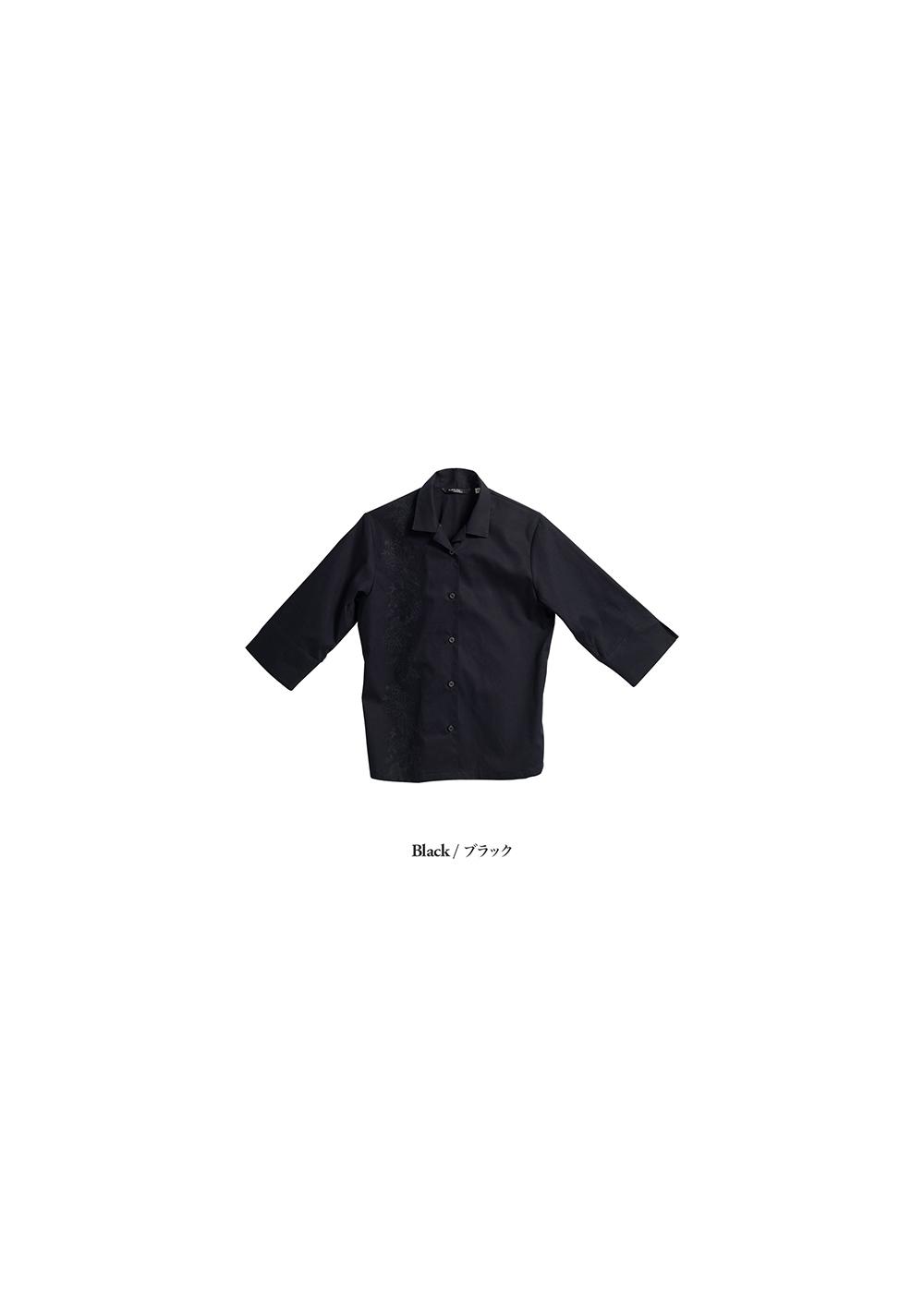 かりゆしウェア(沖縄版アロハシャツ) MAJUN - エレガンスリリー