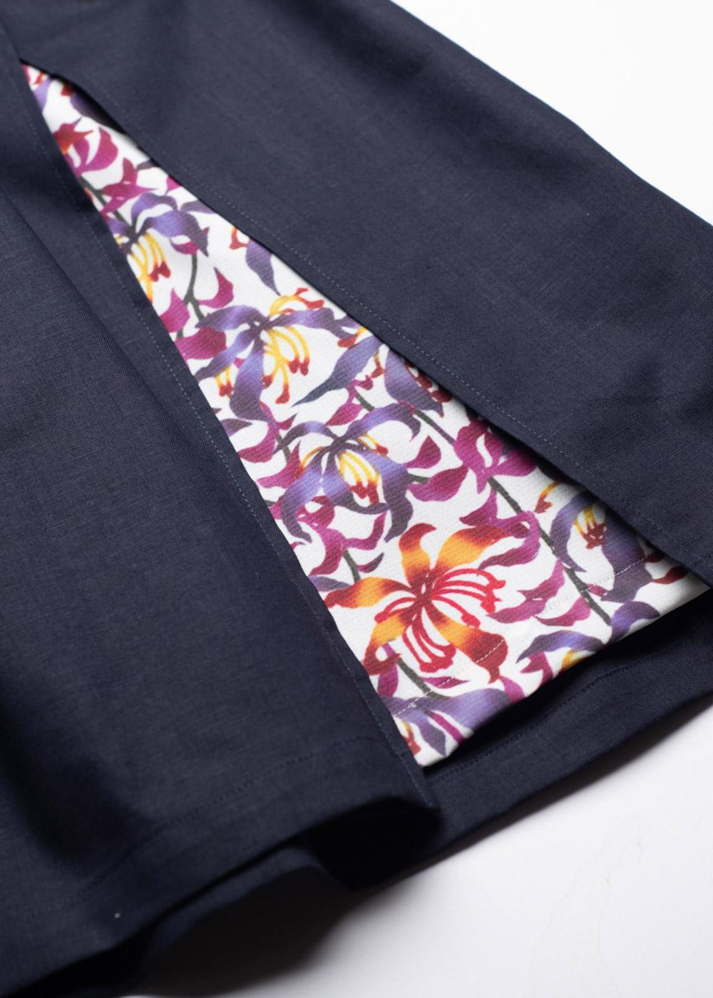 かりゆしウェア(沖縄版アロハシャツ) MAJUN - 琉球グローリア(キッズワンピース)