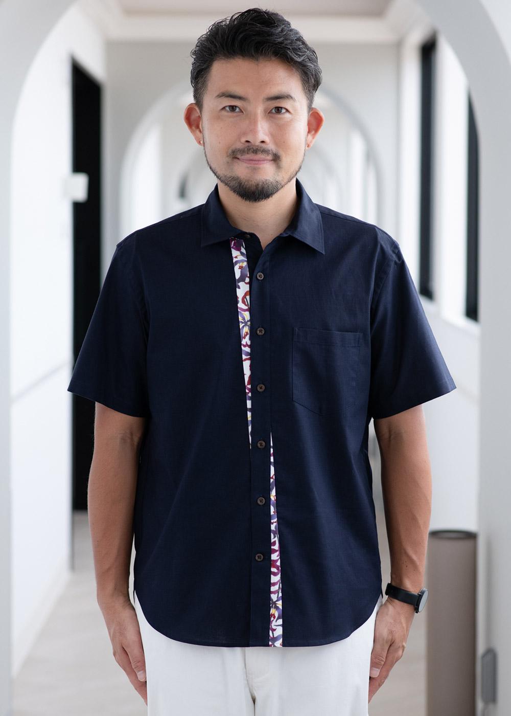 かりゆしウェア(沖縄版アロハシャツ) MAJUN - 琉球グローリア
