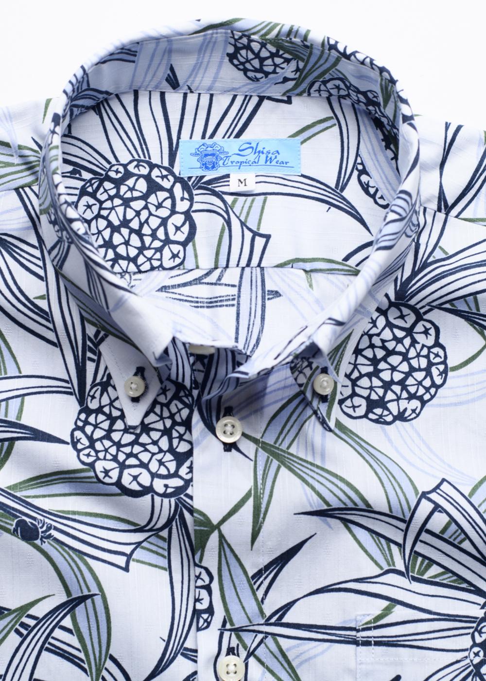 かりゆしウェア(沖縄版アロハシャツ) MAJUN - アダンリーフ