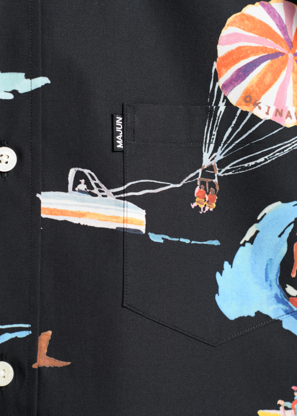 かりゆしウェア(沖縄版アロハシャツ) MAJUN - プレイフルオーシャン